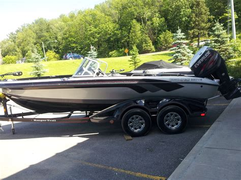 ranger boats through the years new ranger 620 fisherman 250 hp high output e tech