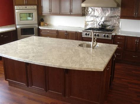 light colored granite kitchen countertops colonial cream granite