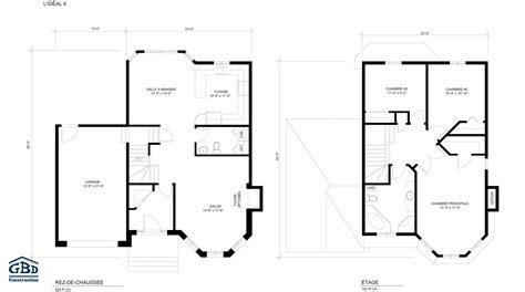 plan images id 233 al ii maison neuve 224 deux 233 tages de type cottage