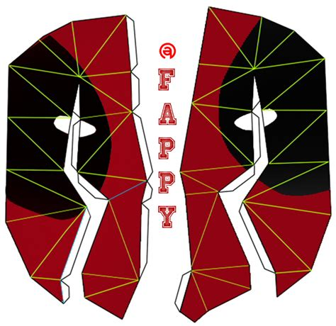 Deadpool Papercraft - deadpool papercraft cake ideas and designs