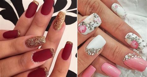 10  Easy and Gorgeous Wedding Nail Art Design Ideas for