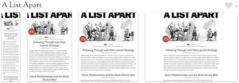 a list appart rahasia responsive web design rwd dengan html5 dan css3