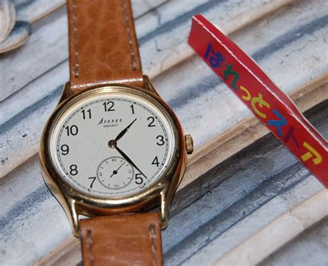 Seiko Avenue seiko セイコー腕時計avenue アベニュー1987年製造 メンズ腕時計 電池交換済 ぱれっとストア