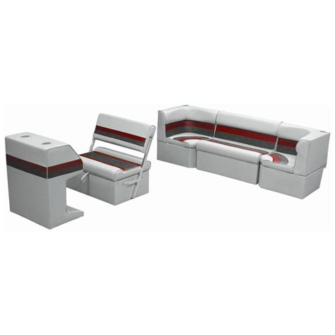 pontoon furniture sets wise 174 rear group deluxe pontoon boat seat j style