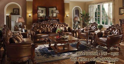 Jual Kursi Tamu Ukiran Jepara kursi tamu mewah jepara harga kursi tamu waldorf nirwana furniture mebel jepara
