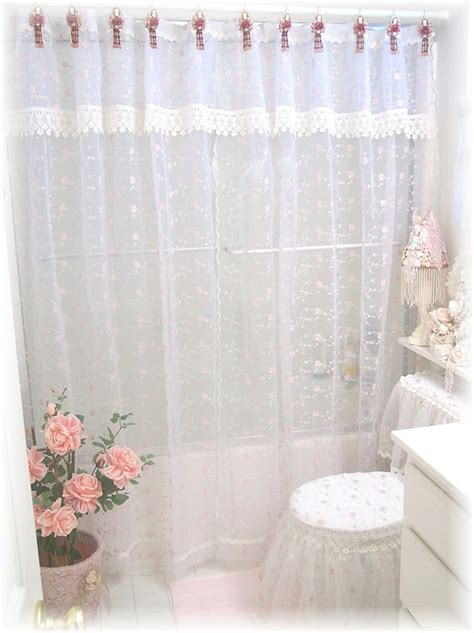 victorian shower curtains bathroom romantic victorian decor shower curtain