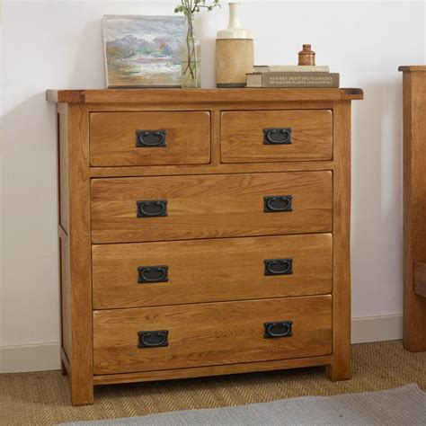 Chest Of Drawers Rustic by Original Rustic 3 2 Chest Of Drawers In Oak Oak
