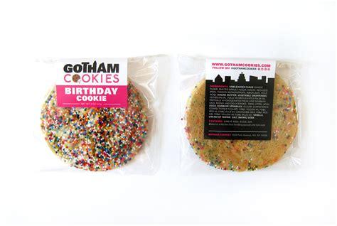 design label cookies gotham cookies hello neighbor designs