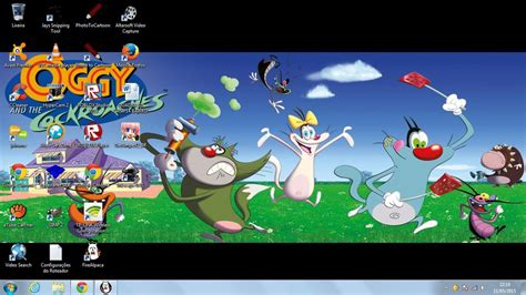 oggy and the cockroaches desktop by marcospower1996 on deviantart