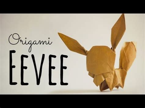 Origami Eevee - how to make an origami eevee