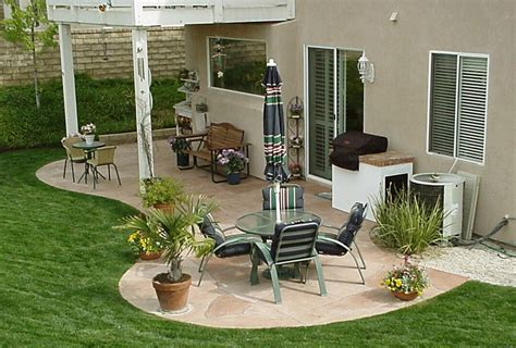 patio ideas for backyard on a budget home citizen