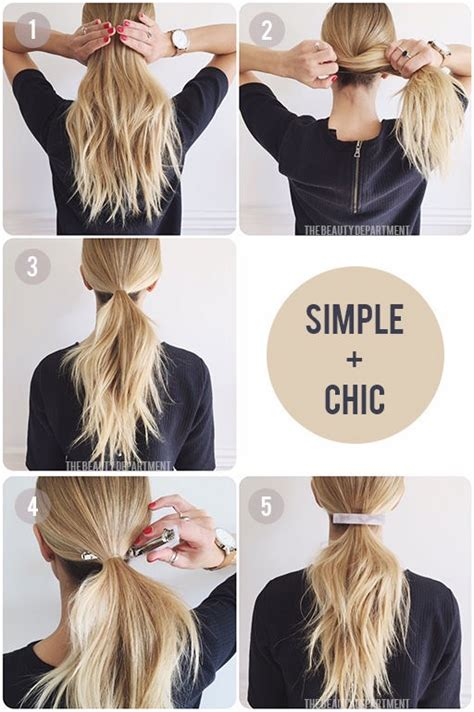 easy hairstyles for school and work 37 easy hairstyles for work the goddess