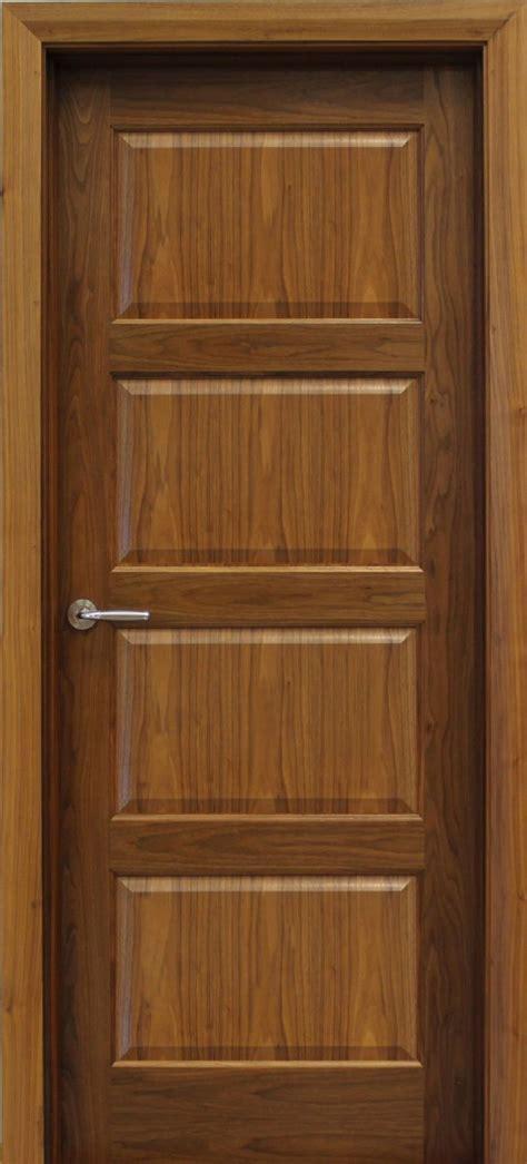 from door contemporary 4 panel walnut door 40mm doors