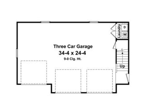 garage door floor plan carriage house plans 3 car garage apartment plan 001g
