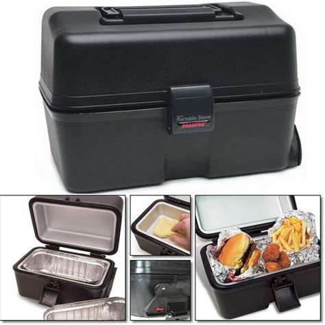 Oven Mobil 12 v food warmer heater portable truck oven mobile stove lunch c warming ebay