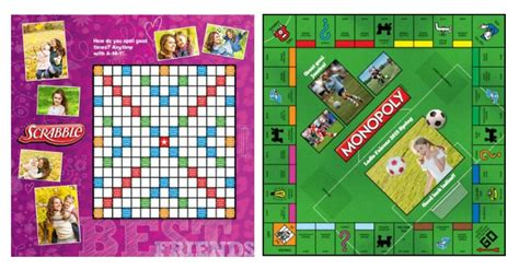 monopoly scrabble personalized monopoly scrabble only 19 50
