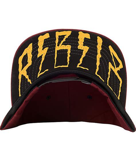 Topi Snapback Rovio Logo Maroon rebel8 logo maroon gold snapback hat zumiez