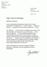 mod 232 les de lettres de r 233 clamation aupr 232 s d un service