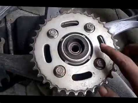 Gear Set Supra Fit New Asli cara pasang gear set honda supra fit new di motor honda supra x 125 wave 125