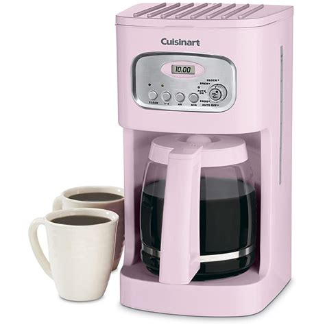 Cuisinart White Toaster Cuisinart Dcc 1100pk Pink 12 Cup Programmable Coffeemaker