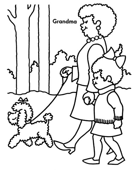 coloring pages with grandparents grandparents coloring pages bestofcoloring com