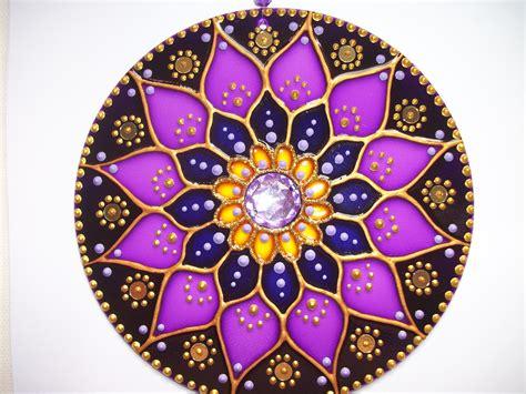 imagenes mandalas con cd mandala quot poder violeta quot atelier mandala e cor elo7