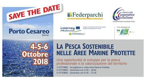 pesca porto cesareo federparchi pesca sostenibile nelle seminario a