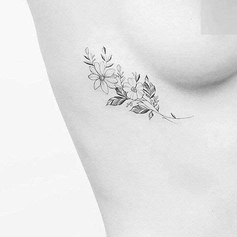 25 best ideas about flower rib tattoos on pinterest rib