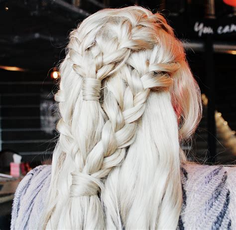 daenerys style hair game of thrones daenerys targaryen khaleesi hair