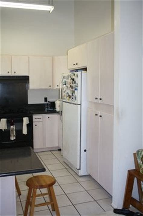 Cabinet Lacquer Refinishing by After Kitchen Cabinets White Wash Lacquer Refinish Yelp