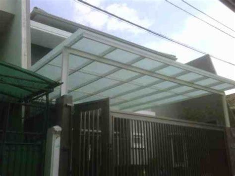 model canopy carport minimalis eksterior rumah
