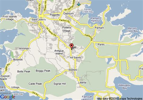buy a house in antigua map of alagana house antigua