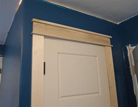Trim Around Doors by Craftsman Door Trim Tutorial