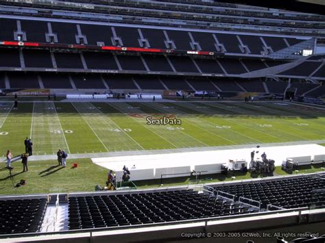 Soldier Field Media Deck by Soldier Field Section 240 Chicago Bears Rateyourseats