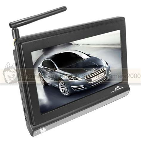 Monitor Wireless 2 4ghz 7inch wireless tft lcd monitor receiver for cctv security