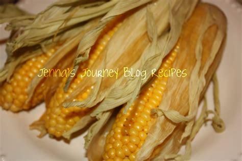 jenna blogs bbq smoked corn on the cob