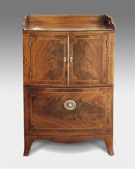 Antique Commode Cabinet by Regency Tray Top Commode Antique Bedside Table Bedside