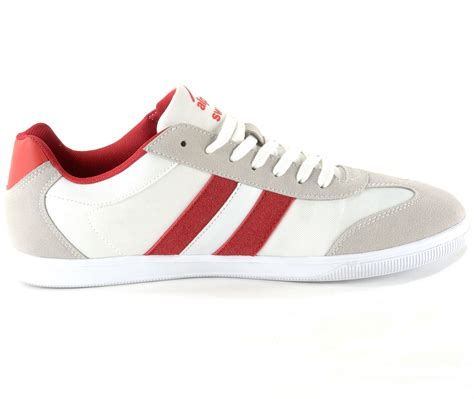 retro athletic shoes alpine swiss haris mens retro striped athletic shoes