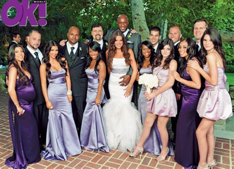 Malika Syari Green Lavender wedding khloe and lamar wedding bells