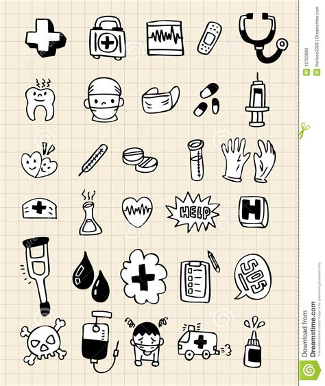 doodle doctor free doodle doctor element draw royalty free stock images