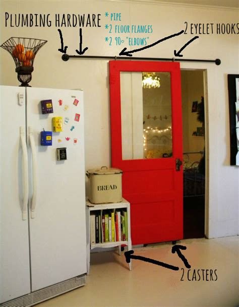 Sliding Barn Door Diy Fig Milkshakes Diy Sliding Barn Door
