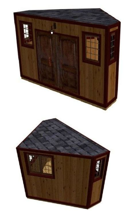 dog house shed combo 17 best ideas about corner sheds on pinterest corner
