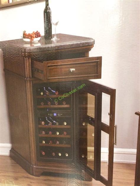 costco 1075067 tresanti wine cabinet with 24 bottle