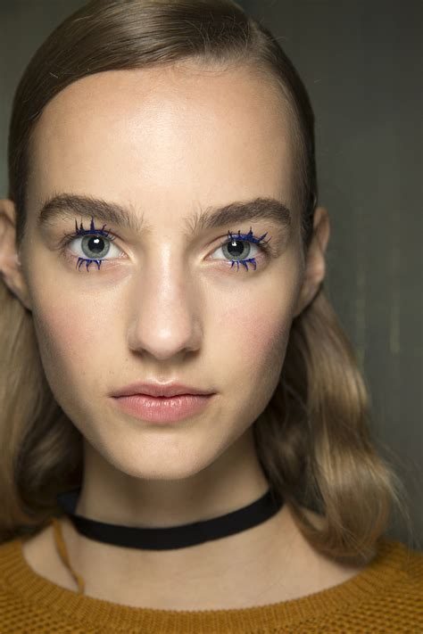 Lipstick To Open Up Fashion Week by The Most Makeup At Fashion Week Ss16 Pink