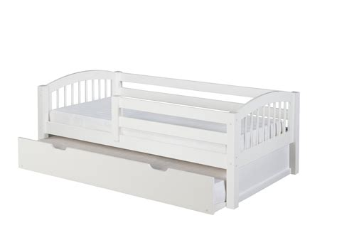 guard rail for twin bed camaflexi twin size day bed with front guard rail twin