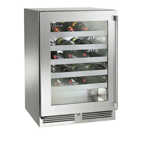 24 wine fridge perlick 24 inch outdoor wine cooler