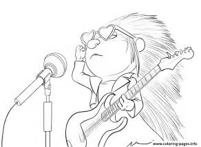 sing coloring page sing porcupine coloring pages printable