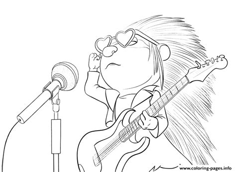 printable coloring pages cing sing porcupine coloring pages printable