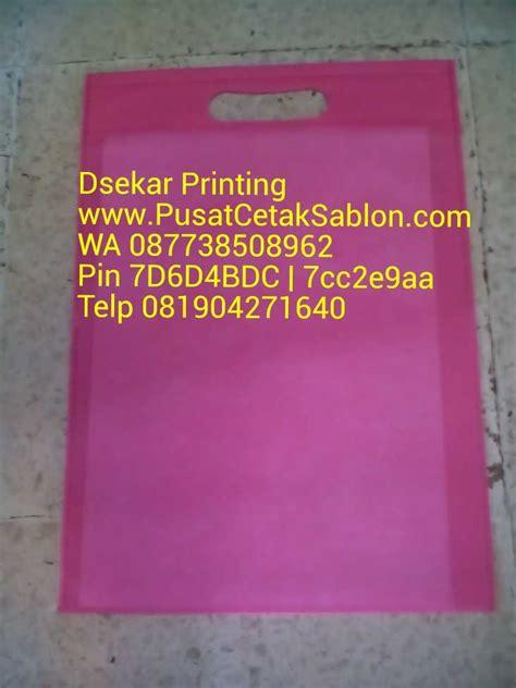 Kain Spunbond Jember grosir tas kain spunbond di denpasar pusat cetak sablon