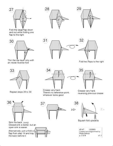 Wars Origami For - wars origami